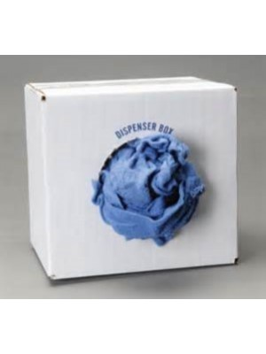 SW10 10LBS BOX OF WINDOW WIPES-BLUE