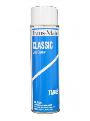 "TM-609X S/B TRANSMATE CLASSIC GLASS CLEANER (CASE-12 CANS)""AutoTech"" by TransMate"